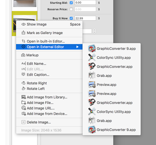 """limit image """"Open in External Editor"""" applications to Startup Disk"""
